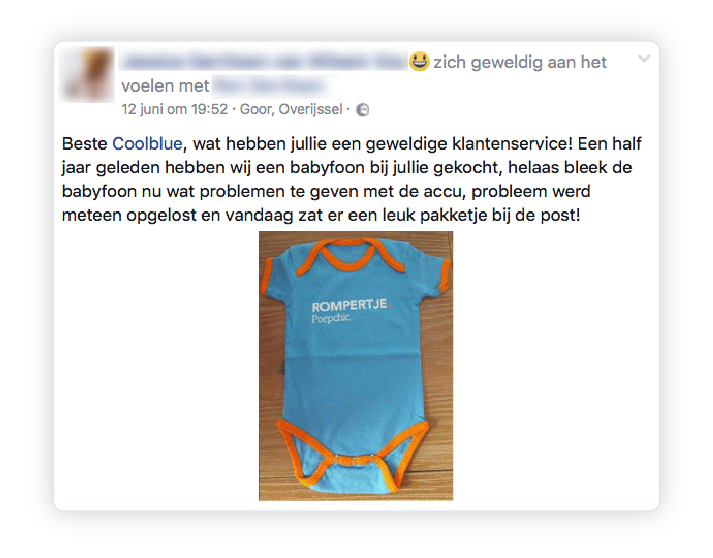 Coolblue verrassing