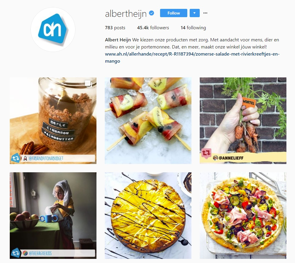 Instagram_AlbertHeijn