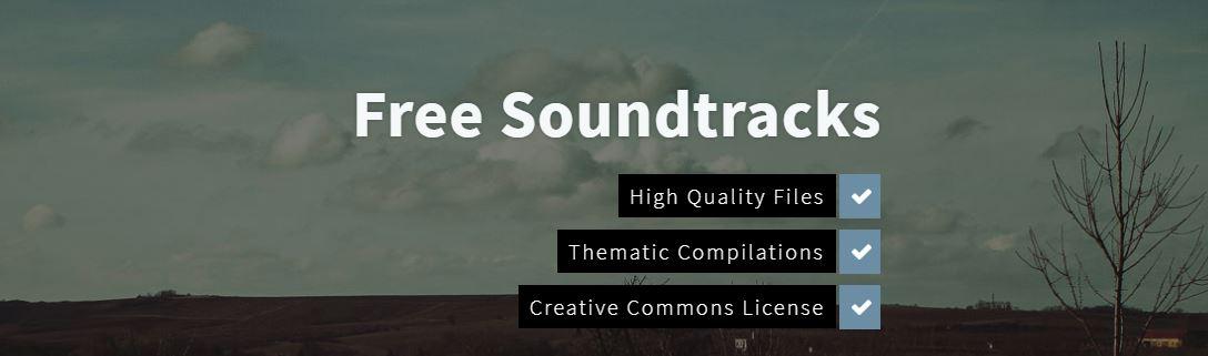 Free Soundtracks gratis rechtenvrije muziek