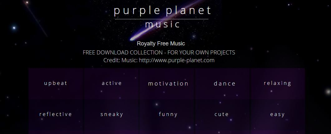 Purple Planet Music
