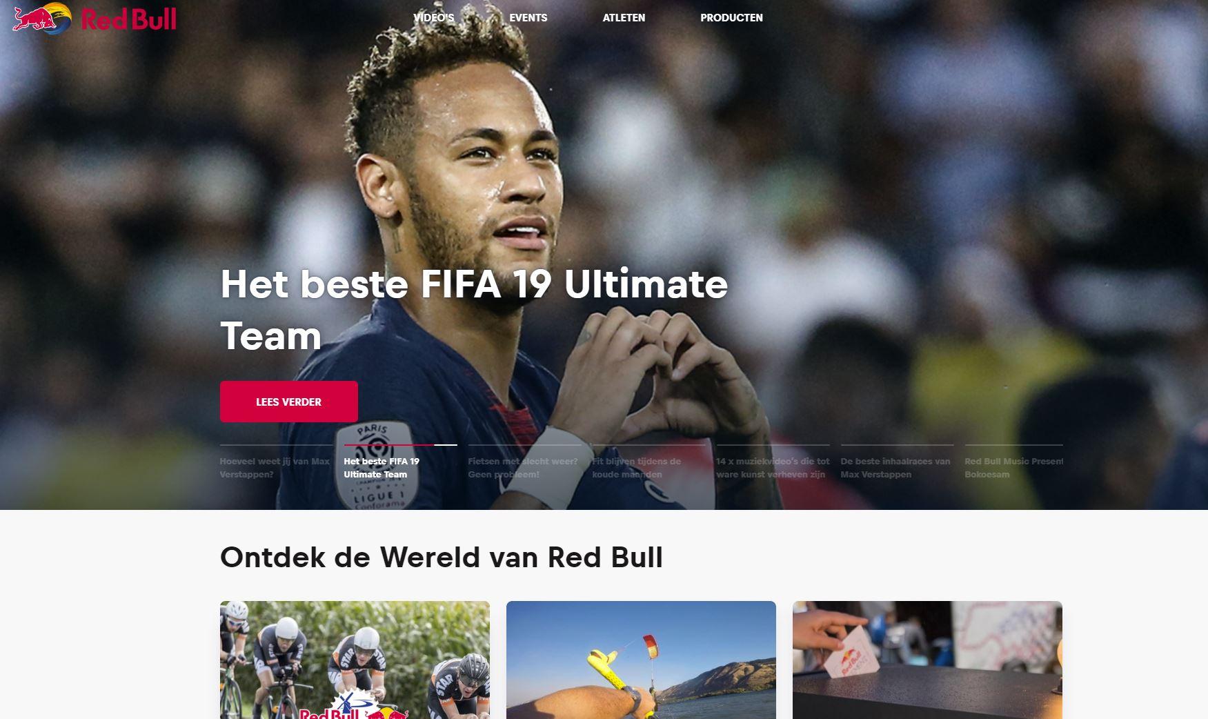 Website Redbull