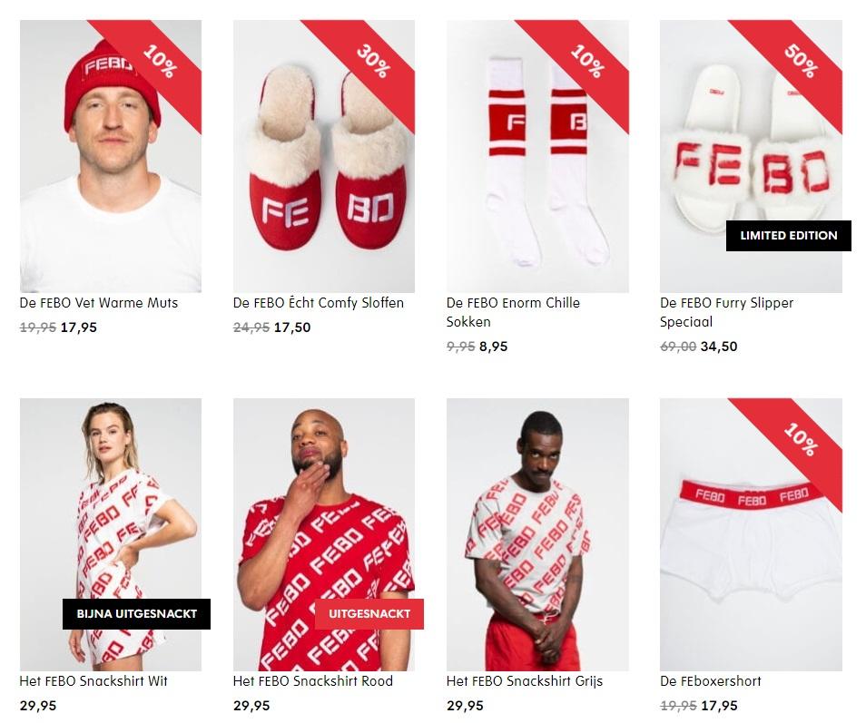FEBO-merchandise